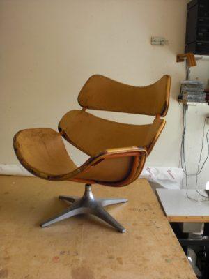 sixties design fauteuil